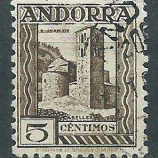 Selos: ANDORRA ESPAÑOLA SUELTOS 1935 EDIFIL 29 O - ANDORRA ESPAÑOLA SUELTOS 1935 EDIFIL 29 O. Lote 150772340