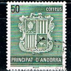 Sellos: ANDORRA EDIFIL 155, ESCUDO DE ANDORRA, USADO. Lote 155285466