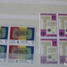 Sellos: ANDORRA ESPAÑOLA AO 1982 EDIFIL 157/58 BLOQUE 4 NUEVOS PERFECTOS. Lote 155416146