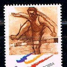 Sellos: ANDORRA EDIFIL Nº 280, JUEGOS OLIMPICOS DE SIDNEY, CARRERA DE VALLAS, NUEVO ***. Lote 258188050
