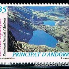 Sellos: ANDORRA EDIFIL Nº 277, PATRIMONIO NATURAL: LAGOS DE ANGONELLA, NUEVO ***. Lote 258188155