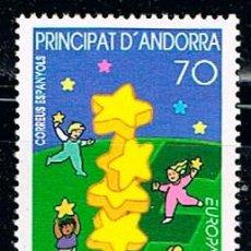 Sellos: ANDORRA EDIFIL Nº 276, EUROPA 2000, NUEVO ***. Lote 258188245