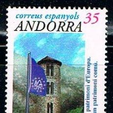 Sellos: ANDORRA EDIFIL Nº 275, PATRIMONIO DE EUROPA (IGLESIA DE SANTA COLOMA), NUEVO ***. Lote 258188375