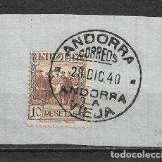 Sellos: ANDORRA ESPAÑOLA 1929 EDIFIL 26 - 3/7. Lote 155487190