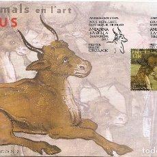 Sellos: ANDORRA 2017. SPD O SELLO MATADO. ANIMALES EN EL ARTE.. Lote 156531670