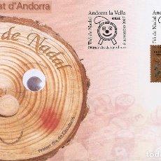 Sellos: ANDORRA 2017. SPD O SELLO MATADO. TIO DE NADAL.. Lote 156532002
