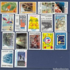 Sellos: ANDORRA ESPAÑOLA. AÑO 2009 COMPLETO. NUEVOS SIN CHARNELA. Lote 163608046