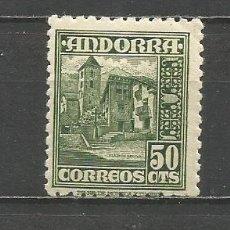 Sellos: ANDORRA EDIFIL NUM. 51 ** NUEVO SIN FIJASELLOS. Lote 167128812