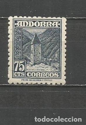 ANDORRA EDIFIL NUM. 52 * NUEVO CON FIJASELLOS (Sellos - España - Dependencias Postales - Andorra Española)