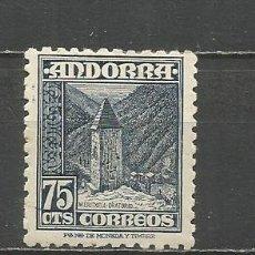 Sellos: ANDORRA EDIFIL NUM. 52 * NUEVO CON FIJASELLOS. Lote 167129080