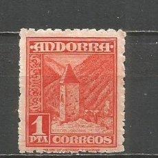 Sellos: ANDORRA EDIFIL NUM. 54 * NUEVO CON FIJASELLOS. Lote 167129144