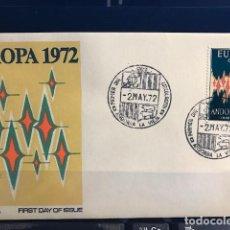 Sellos: SPD SERIE EUROPA ANDORRA 1972. Lote 169231876