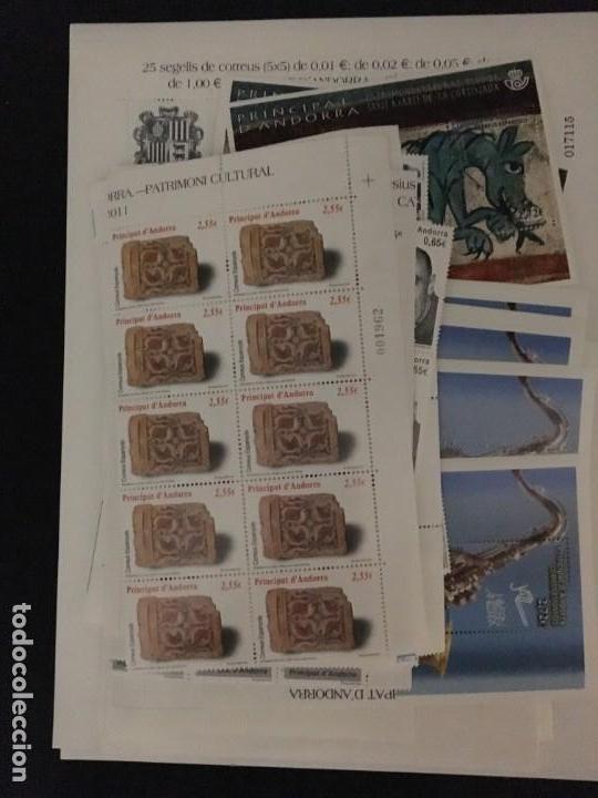 ANDORRA ESPAÑOLA, 2011 - 2014 AÑOS COMPLETOS, *VALOR FACIAL 470€* (Sellos - España - Dependencias Postales - Andorra Española)