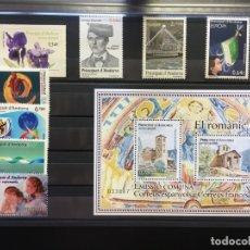 Sellos: ANDORRA ESPAÑOLA AÑO 2010 COMPLETO. Lote 175022177