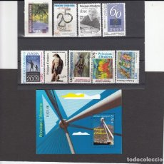 Sellos: ANDORRA ESPAÑOLA - SELLOS NUEVOS AÑO COMPLETO 2009 A PRECIO FACIAL. Lote 223599871