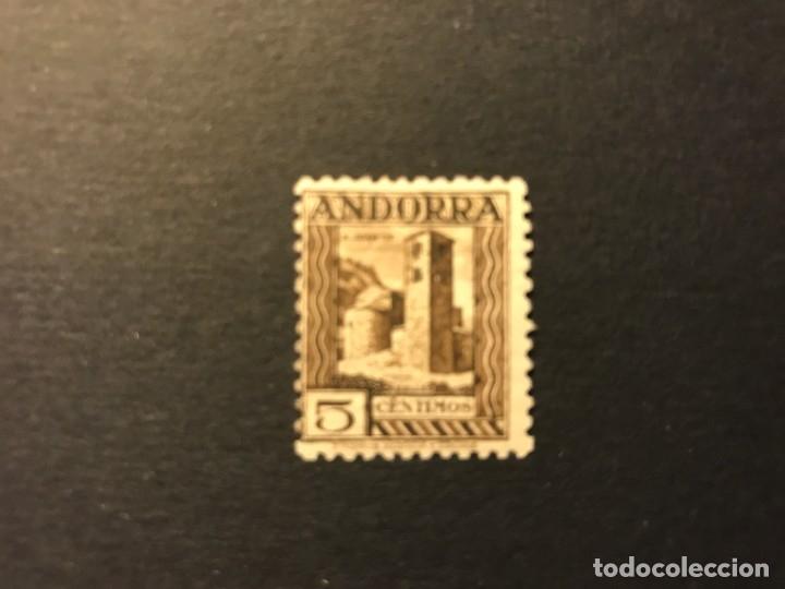 ANDORRA ESPAÑOLA 1935 EDIFIL 29* MLH (Sellos - España - Dependencias Postales - Andorra Española)