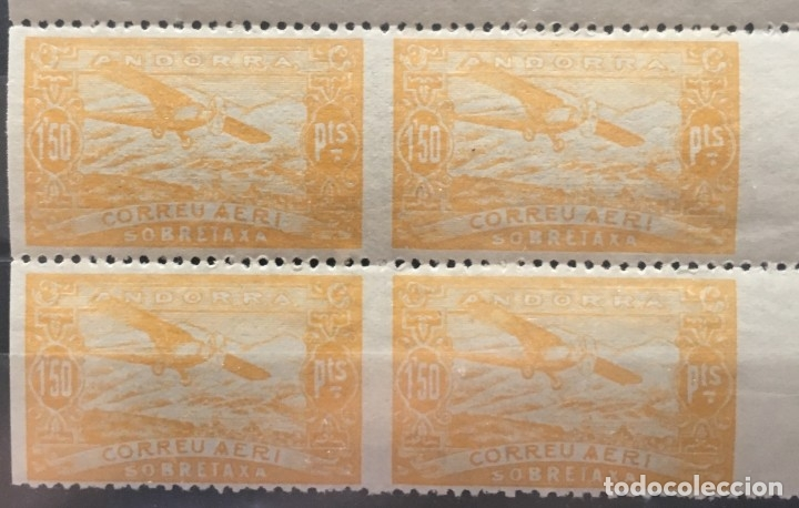 ANDORRA ESPAÑOLA SELLO Nº NE18SV (Sellos - España - Dependencias Postales - Andorra Española)
