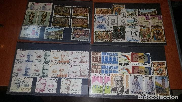 176 SELLOS DE ANDORRA NUEVOS + 2 HOJAS (Sellos - España - Dependencias Postales - Andorra Española)