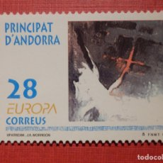 Sellos: SELLO - ANDORRA CORREO ESPAÑOL - EDIFIL 236 - 1993 - 28 PTA - UPATREAM. Lote 194304940