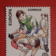 Sellos: SELLO - ANDORRA CORREO ESPAÑOL - EDIFIL 213 - 1989 - 20 PTA - SALTAR I PARAR - JUEGOS. Lote 194305145