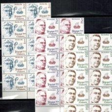 Sellos: LOTE DE 10 SERIES EN BLOQUE DE ANDORRA ESPAÑOLA PERSONAJES 1979. Lote 183460841