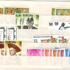 Sellos: LOTE DE 28 SELLOS SUELTOS DE ANDORRA ESPAÑOLA, AÑOS 1980/1982. Lote 183464125