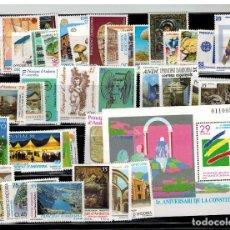 Sellos: LOTE DE UNOS 60 SELLOS SUELTOS DE ANDORRA ESPAÑOLA (LOS DE LAS FOTOS). Lote 183464422