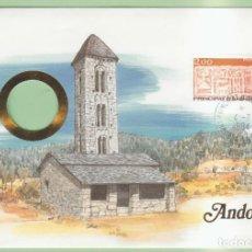 Sellos: ANDORRA. SOBRE DEL PRIMER DIA 1984. Lote 190396471