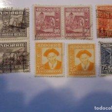 Timbres: ANDORRA.LOTE DE SELLOS,AÑOS 50.. Lote 193571842