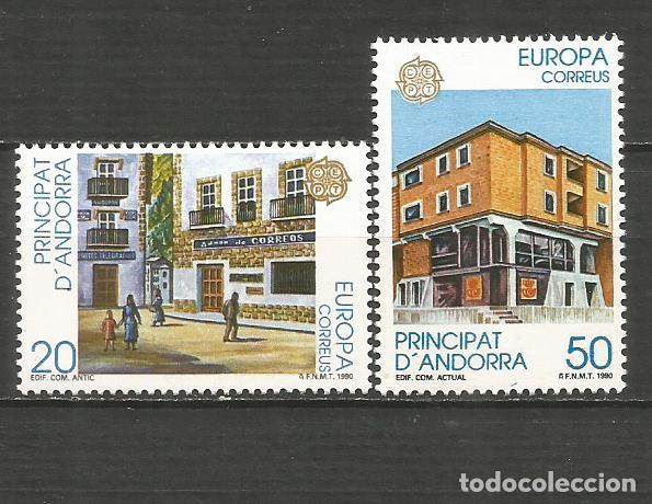 ANDORRA EDIFIL NUM. 218/219 ** SERIE COMPLETA SIN FIJASELLOS (Sellos - España - Dependencias Postales - Andorra Española)