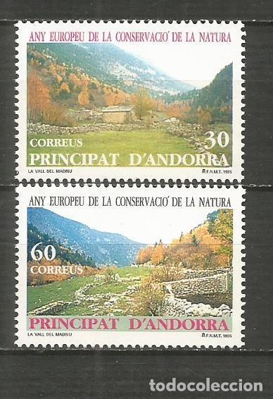 ANDORRA EDIFIL NUM. 246/247 ** SERIE COMPLETA SIN FIJASELLOS (Sellos - España - Dependencias Postales - Andorra Española)