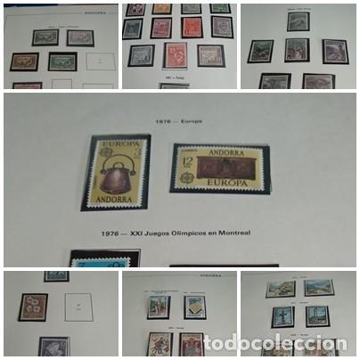 LOTE N. 1 DE 7 HOJAS CON SELLOS DE ANDORRA - VER FOTOS (Sellos - España - Dependencias Postales - Andorra Española)