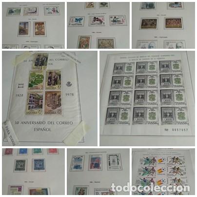 LOTE N. 2 DE 8 HOJAS CON SELLOS DE ANDORRA - VER FOTOS (Sellos - España - Dependencias Postales - Andorra Española)