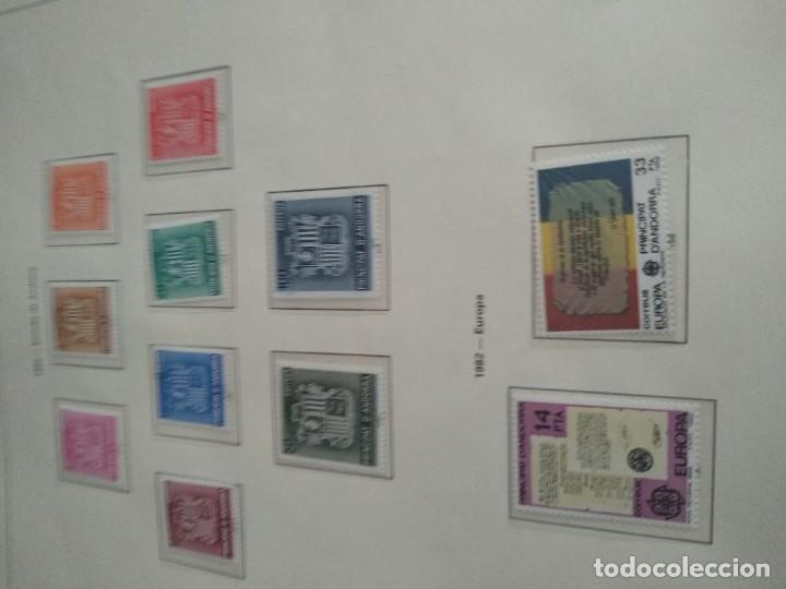 Sellos: LOTE N. 2 DE 8 HOJAS CON SELLOS DE ANDORRA - VER FOTOS - Foto 7 - 194209565