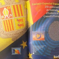 Sellos: 2019 - SELLOS DE ANDORRA ESPAÑOLA (AÑO COMPLETO). Lote 194619283