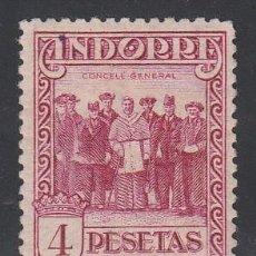 Sellos: ANDORRA ESPAÑOLA, 1929 EDIFIL Nº 25 /*/, ( DT. 14 ). Lote 195298902