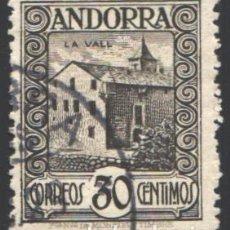 Sellos: ANDORRA ESPAÑOLA 1929 EDIFIL Nº 21. Lote 195424693