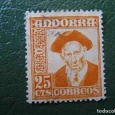 Selos: +ANDORRA 1948, EDIFIL 49. Lote 196784772
