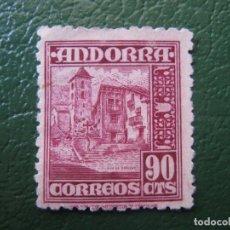 Selos: +ANDORRA 1948, EDIFIL 53. Lote 196785726