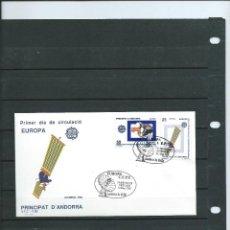 Sellos: SOBRE DE PRIMER DIA DE ANDORRA ESPAÑOLA DEL AÑO 1991 DEL TEMA DE EUROPA 91. Lote 197427997