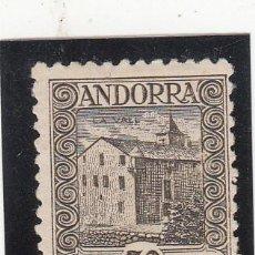 Sellos: ANDORRA ESPAÑOLA NUM 21 A -DENT 11,5X11 SIN GOMA - SIN MATASELLAR -SEÑAL DE FIJASELLOS. Lote 199510348