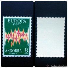 Sellos: ANDORRA.EUROPA 1972.NUEVO Y SIN FIJASELLOS .. Lote 199931307