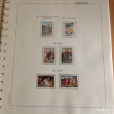 Sellos: 1975 SELLOS DE ANDORRA (CORREO ESPAÑOL) NUEVO, AÑO COMPLETO.. Lote 202408716