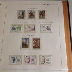 Sellos: 1979 SELLOS DE ANDORRA (CORREO ESPAÑOL) NUEVO. AÑO COMPLETO SIN HB. Lote 202410821