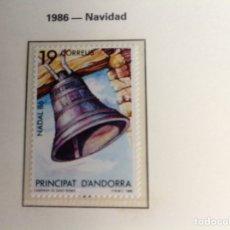Sellos: 1986 SELLO DE ANDORRA NAVIDAD-86. Lote 202784653