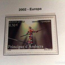 Sellos: 2002 SELLO DE ANDORRA. EUROPA-2002. Lote 202835315