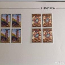Sellos: 1979 ANDORRA. NAVIDAD 1979. BLOQUE DE CUATRO. Lote 203272125
