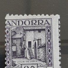 Francobolli: ANDORRA , EDIFIL 34 **, YVERT 34, 1935-43. Lote 203310820