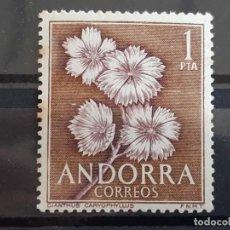 Timbres: ANDORRA , EDIFIL 69 **, ÓXIDO , 1966 FLORA. Lote 203733648