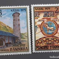 Selos: ANDORRA , EDIFIL 128-129 ** , 1979. Lote 203853540